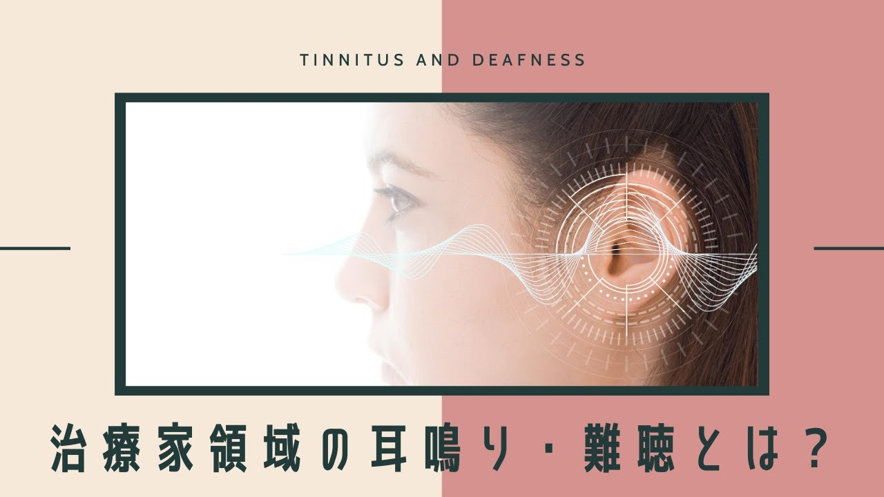 治療家領域の耳鳴り・難聴とは?